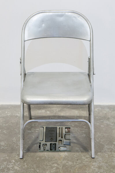 Nazgol Ansarinia, 'Private Assortment Series, 2011-2013, Metal Chair', 2013