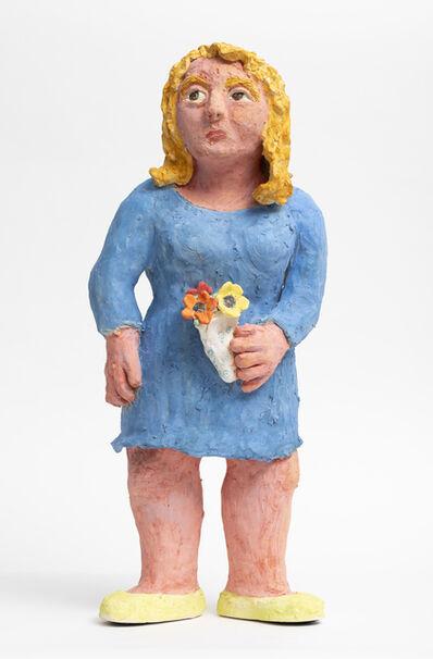 Sally Saul, 'Blue Lady', 2018
