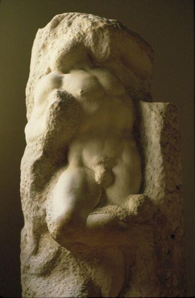 Michelangelo Buonarroti, 'Awakening Captive', ca. 1516-19