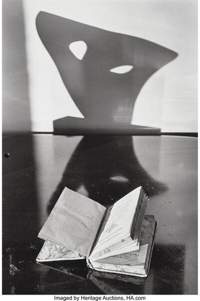 André Kertész, 'Still Life with Book and Sculpture', 1974