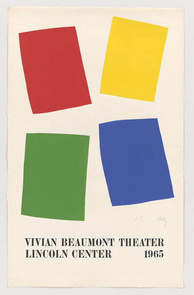 Ellsworth Kelly, 'Vivian Beaumont Theater, Lincoln Center', 1965