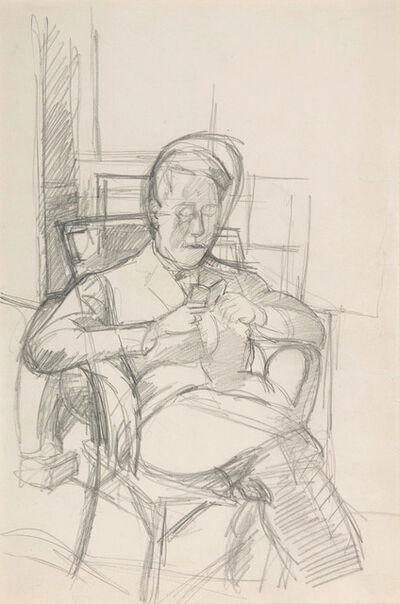 Alberto Giacometti, 'Bruno lisant', 1927-1928