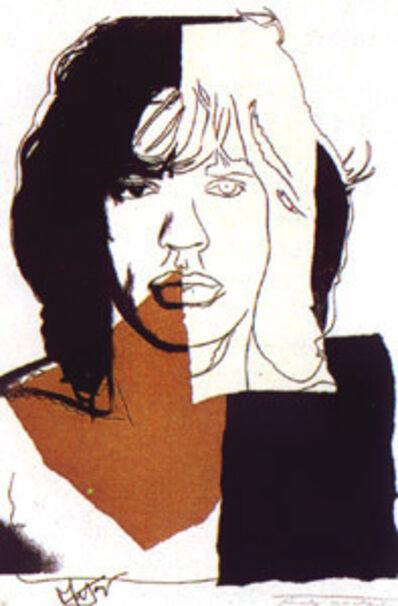 Andy Warhol, 'Mick Jagger FS146', 1975