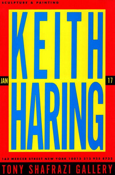 Keith Haring, 'Keith Haring at Tony Shafrazi 1987 (announcement) ', 1987