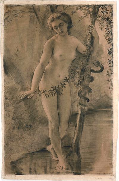 Louis Janmot, 'Eve', 1866
