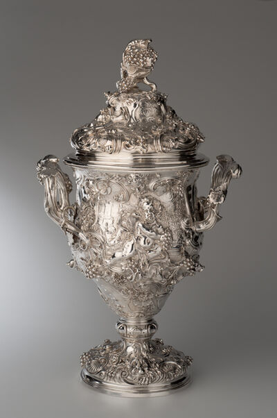Paul de Lamerie, 'Two-Handled Cup and Cover', 1742-1743