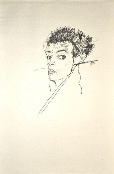 Egon Schiele, 'Selfportrait', 1920