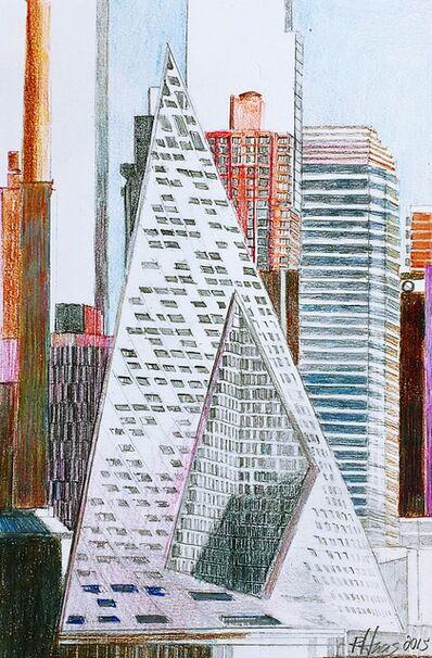 Richard Haas, 'Study for the VIA 57 West Building (Architect: Bjarke Ingels)', 2015