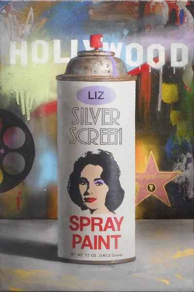 Ben Steele, 'Silver Screen - Liz', 2018