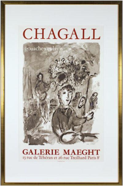 Marc Chagall, 'Chagall Gouaches et lavis', c. 1977