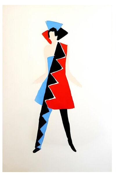 """Sonia Delaunay, 'Original Pochoir """"27 Living Paintings IV"""" by Sonia Delaunay', 1969"""