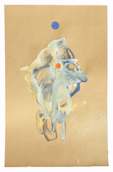 Justin Orvis Steimer, 'lapis and gold transmitter', 2017