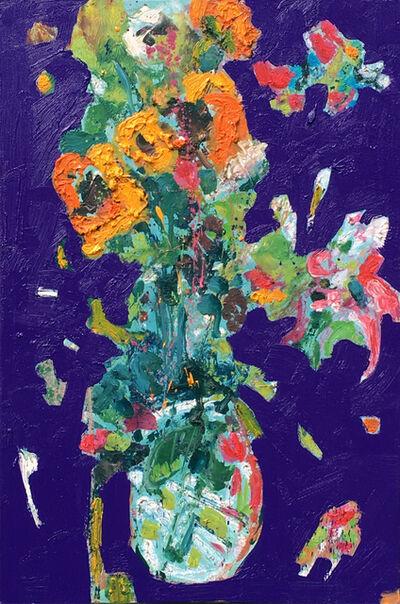 Marcel Kahhak, 'Bouquet/Purple', 2012