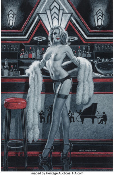 Greg Hildebrandt, 'All That Jazz - Blackboard'