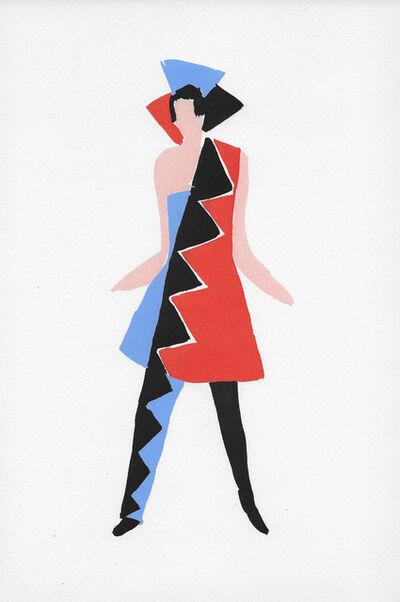 Sonia Delaunay, 'Costume pour Carnaval de Rio'