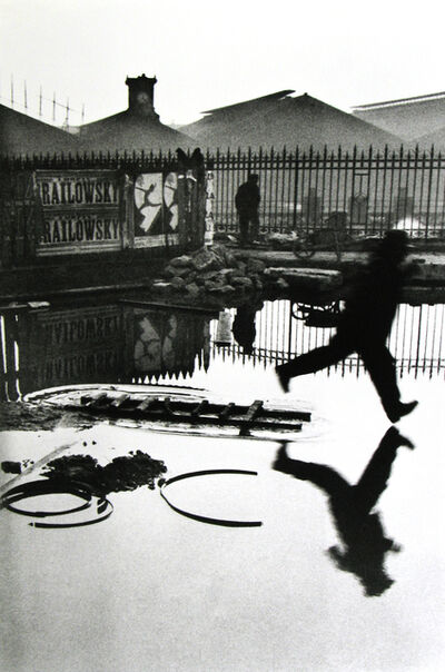 Henri Cartier-Bresson, 'Behind the Gare Saint-Lazare, Pont de l'Europe, Paris', 1932