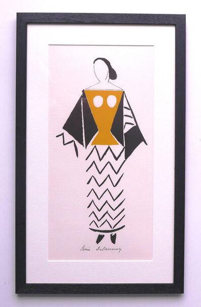 Sonia Delaunay, 'Robe Pour Le Coeur A Gaz 1969', 1977