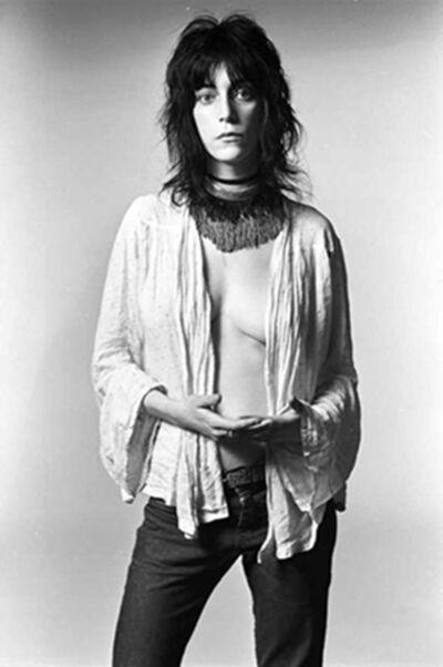 Norman Seeff, 'Patti Portrait B/W; Patti Smith, New York', 1969