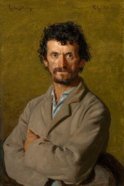 Charles Auguste Émile Carolus-Durand, 'The Artist's Gardener', 1893