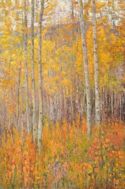 Matthew Higginbotham, 'Walk Among The Aspens', 2018