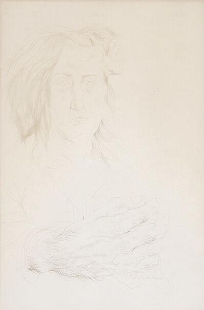 Pavel Tchelitchew, 'Portrait Sketch'