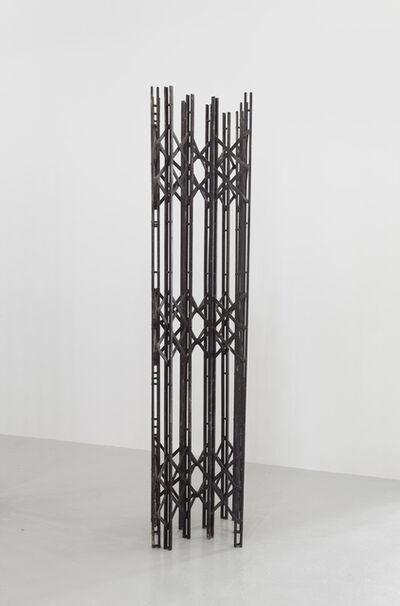 Sofia Hultén, 'Scherengitter 2 (black)', 2014