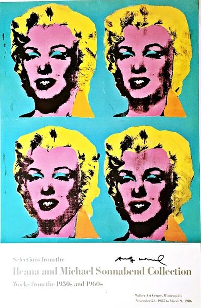 Andy Warhol, '(Hand Signed by Andy Warhol) Selections from the Ileana and Michael Sonnabend Collection ', 1985