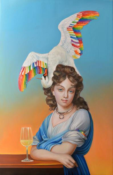 Naomi Devil, 'Rainbowswan', 2018