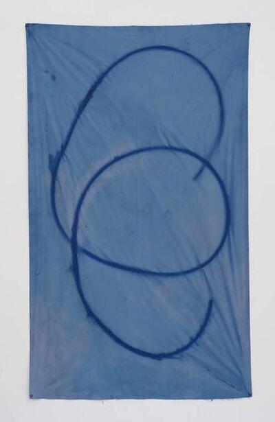 Sam Falls, 'Untitled (blue 14, Topanga, CA),', 2012