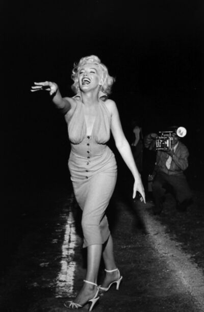 Murray Garrett, 'Marilyn Throws Out The First Pitch (3)', ca. 1952/Printed 2014