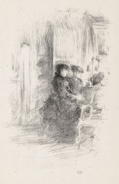 James Abbott McNeill Whistler, 'THE DUET', 1894
