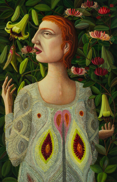 Helen Flockhart, 'Honeysuckle and Lilies ', 2017