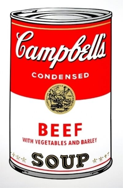 Sunday B. Morning, 'Beef - Campbells Soup Can'