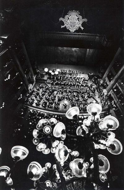 Silvia Lelli e Roberto Masotti, 'Bird's eye, Teatro alla Scala, Milano', 1991