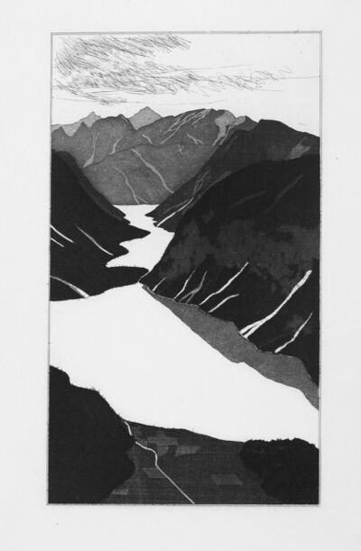 David Hockney, 'The Lake ', 1969
