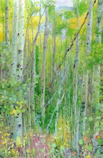 Matthew Higginbotham, 'Walk Among the Aspens II', 2018