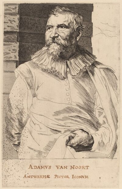 Anthony van Dyck, 'Adam van Noort', probably 1626/1641