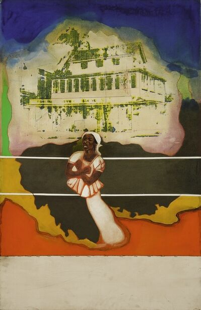 Frank Bowling, 'Untitled (Mother's House)', 1966