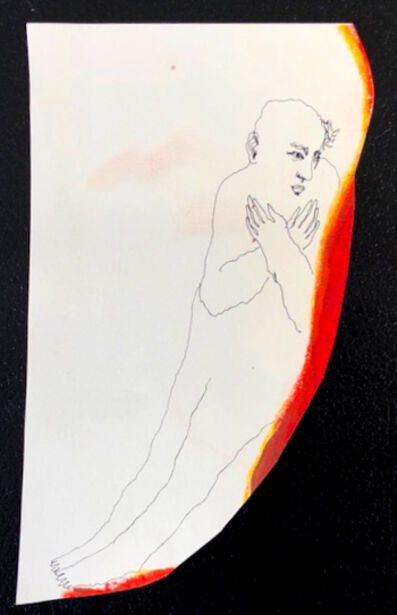 Mindy Alper, 'Untitled (arms crossed)', n.d.