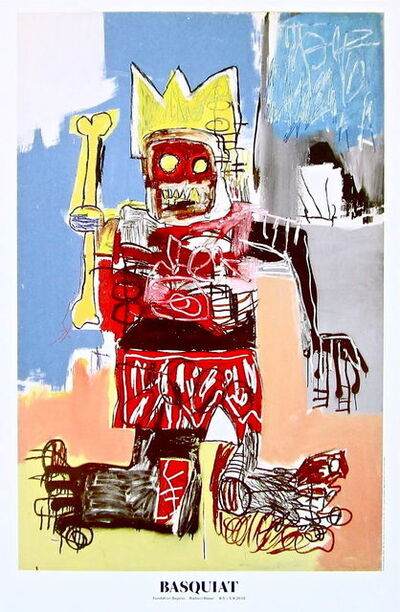 Jean-Michel Basquiat, 'Untitled (1982) exhibition poster', 2010