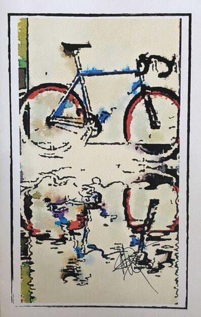 Mariam Qureshi, 'Puddles under my bike ', 2015
