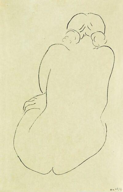 Henri Matisse, 'Nu assis, vu de dos', 1913