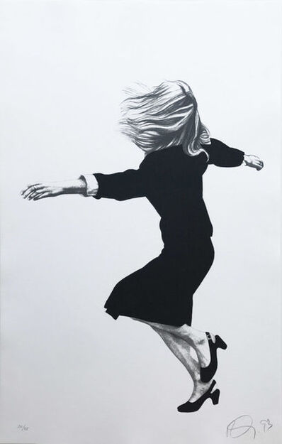 Robert Longo, 'Untitled (From the Men in the Cities series)', 1993