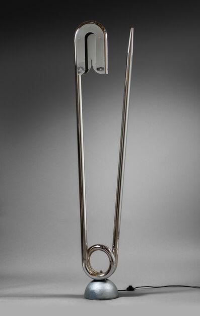 "Yonel Lebovici, '""Epingle de nourrice"" floor lamp', 1980"