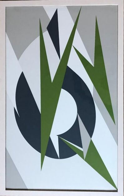 Lee Krasner, ' Embrace (for Montreal Olympics)', 1974