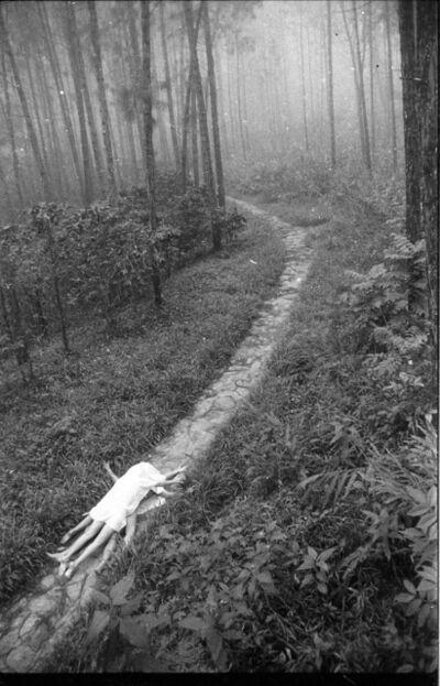Juan Carlos Alom, 'Juegos en el bosque', 1989