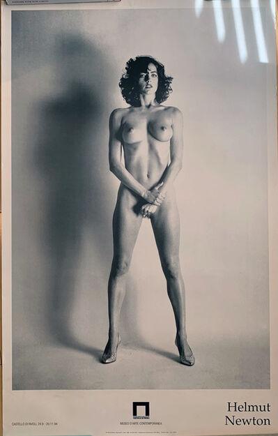 "Helmut Newton, '""Big Nude 111, Paris, 1980 "" Castello di Rivoli, Museo D'Arte Contemporanea', 1994"