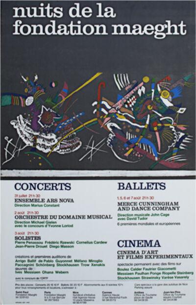 Wassily Kandinsky, 'Nuits de la Foundation', 1971