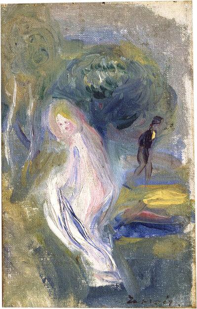 Pierre-Auguste Renoir, 'Nude with Figure in Background', ca. 1882