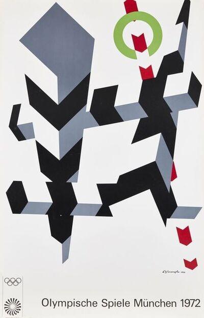 Tom Wesselmann, 'Olympische Spiele Munchen', 1972